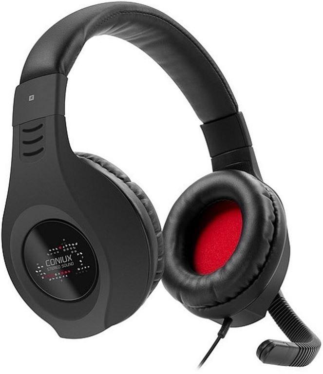Speed-Link Coniux Stereo Headset (Schwarz) SL-4533-BK