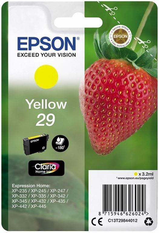 Epson ink/29 Strawberry 3.2ml YL (gelb)