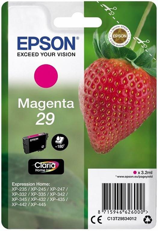 Epson Ink/29 Strawberry 3.2ml MG (rot)