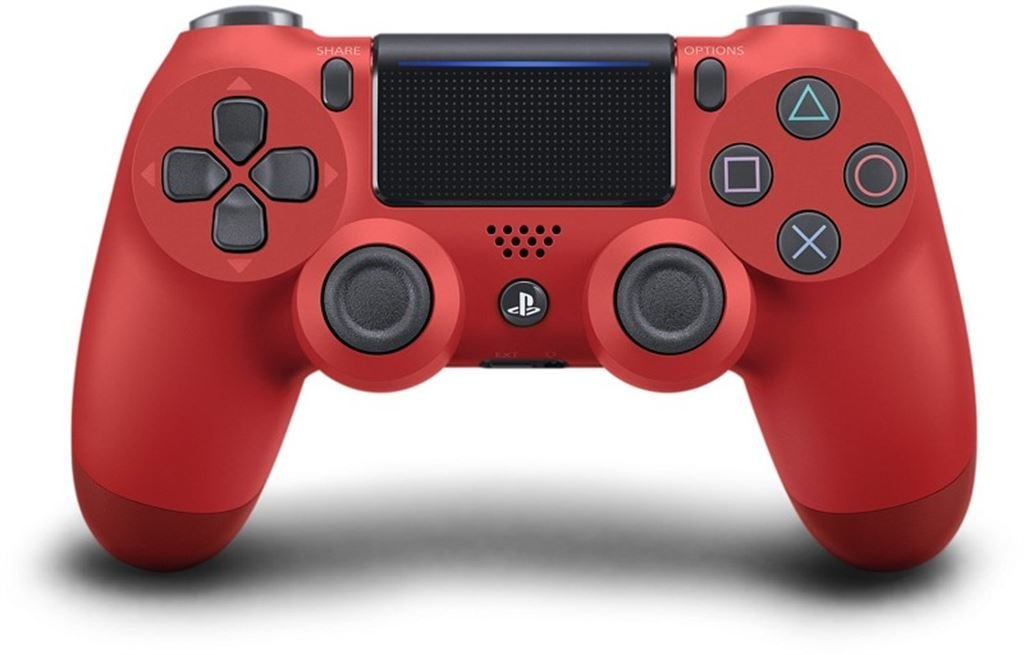 Sony PS4 Wireless DualShock Controller V.2 (rot) 9814153
