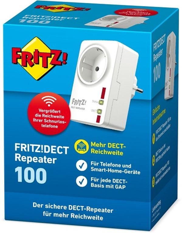 AVM FRITZ!DECT Repeater 100 20002598