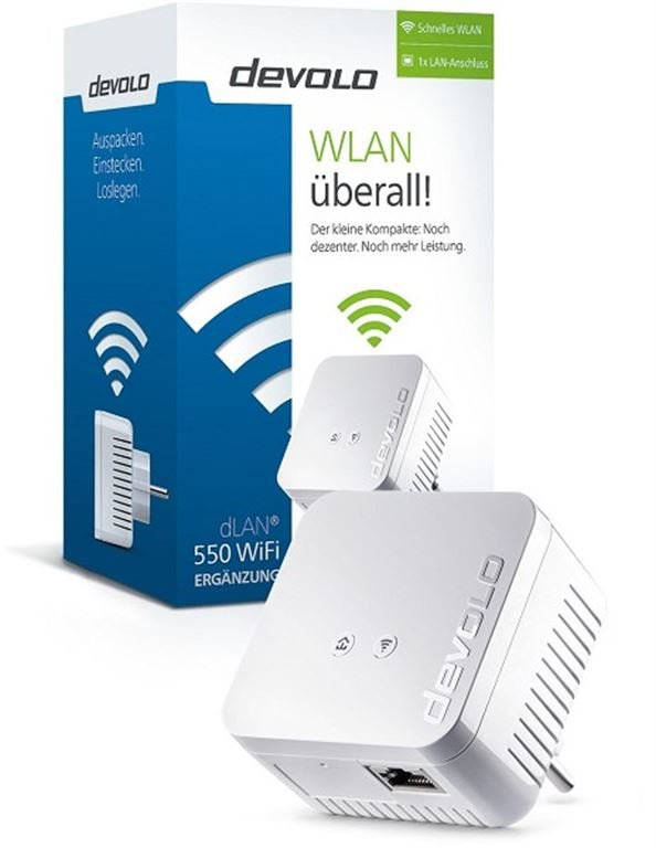 Devolo dLAN 550 WiFi (weiss) 9622