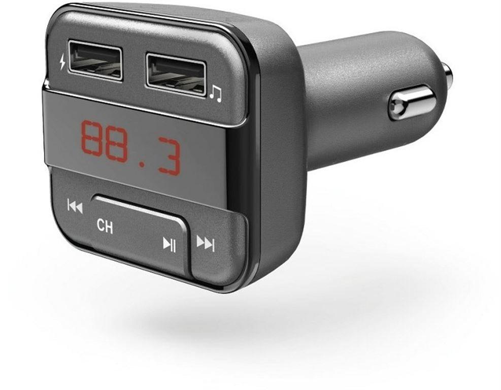 Hama Bluetooth-FM-Transmitter (Grau) 00183274