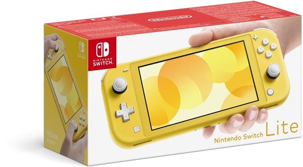 Nintendo Switch Lite Konsole (gelb) 10002291