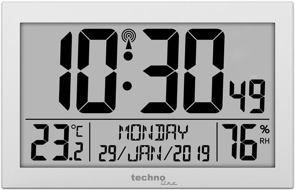 Technoline Wanduhr WS8016