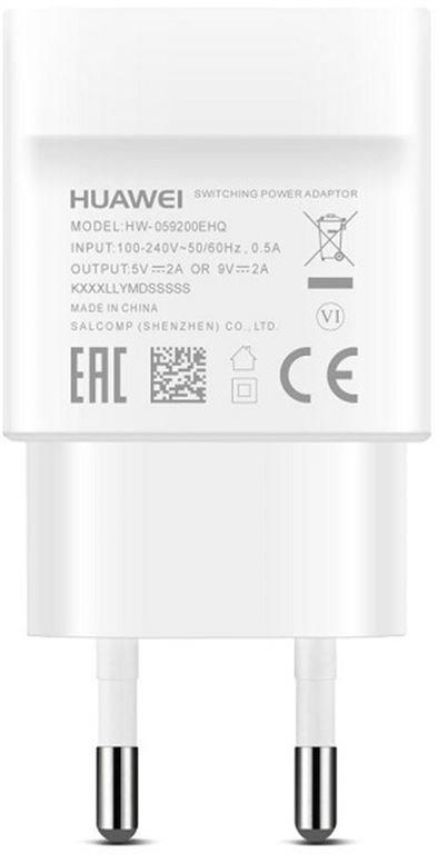 Huawei 9V 2A Adapter AP32 USB Type-C Kabel weiß, 1 00190037