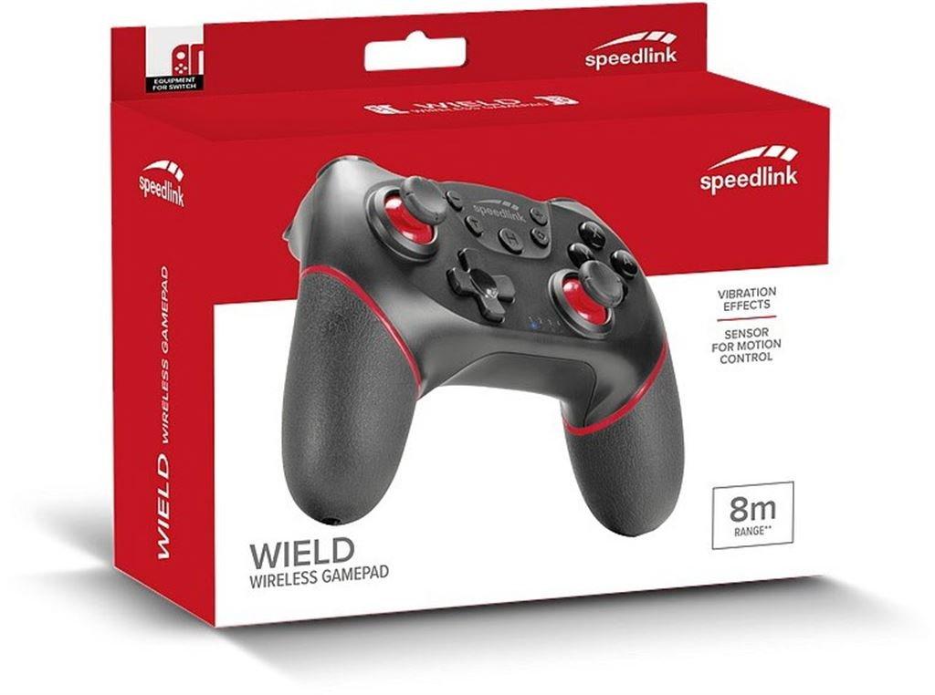 Speed-Link Wield Wireless Gamepad (Schwarz) SL-330401-BK