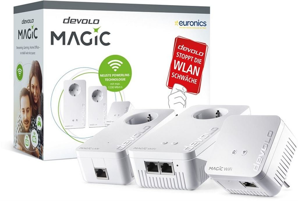 devolo Magic 1200+ WiFi Multiroom Kit 8731
