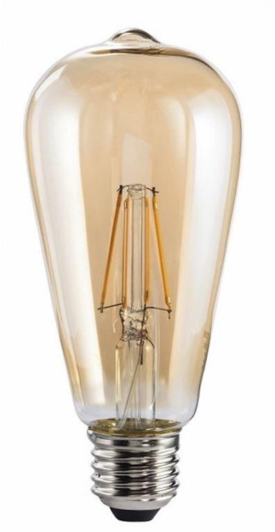 XavaX LED-Filament, E27, 720lm, gewichteter Energieverbrauch (kWh/1.000h) 7, A+, Spektrum [A++ bis E] 00112682