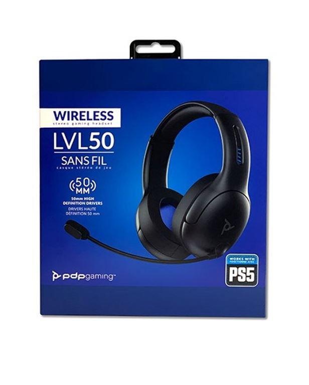 PDP LVL50 Wireless Gaming Headset for PS5 (Schwarz) 051-049-EU-BK