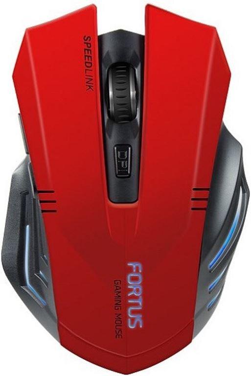 Speed-Link FORTUS Gaming Mouse - Wireless (Schwarz) SL-680100-BK-01
