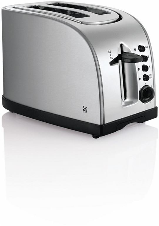 WMF STELIO Toaster (edelstahl/schwarz) 0414010012