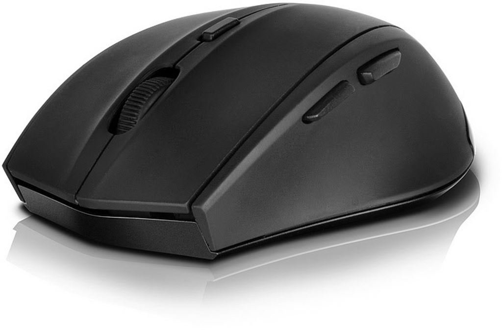 Speed-Link CALADO Silent Mouse - Wireless USB (rubber black) SL-6343-RRBK