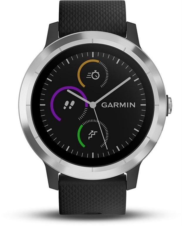 Garmin vivoactive 3 (schwarz/silber) 010-01769-00