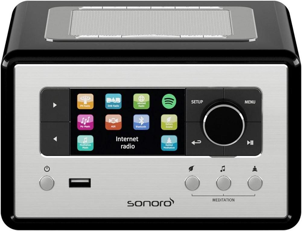 Sonoro Relax - Internetradio (Schwarz) SO-8100-100-BL