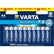 Varta High Energy AA 10er Blister